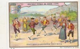 ------  LIEBIG -   Costumes D'anciennes Provinces Numéro 2  Bal Bourgogne Retaillé Voir Scan - Liebig
