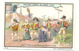 ------  LIEBIG -   Costumes D'anciennes Provinces Numéro 1 Noces Paludiers Un Peu Retaillé Voir Scan - Liebig