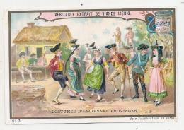 ------  LIEBIG -   Costumes D'anciennes Provinces Numéro 4 Ballade Pyrénées  Un Peu Retaillé Voir Scan - Liebig