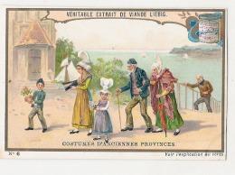 ------  LIEBIG -   Costumes D'anciennes Provinces Numéro 6 L'ex Voto  Un Peu Retaillé Voir Scan - Liebig