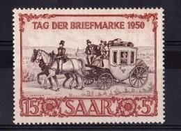 SARRE - 1950 - N° 270 - Neuf ** - Journée Du Timbre - Cote 90 € - 1947-56 Occupation Alliée