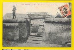 Yen-Thé Cho-Go Porte D'Entrée Du Fortin Du Dé-Tham (Dieulefils) Tonkin - Vietnam