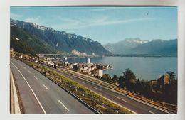 LOT 2 CPSM MONTREUX (Suisse-Vaud) - Vue De L'autoroute Du Léman, Autoroute Du Léman 4 Vues - VD Vaud