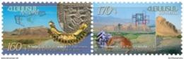 Armenia MNH** 2013 Mi 849-850 Historic Capitals Of Armenia. Yervandashat. Armavir - Armenia