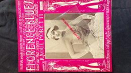 PARTITION MUSICALE-THEATRE DE MARIGNY PARIS-1923-FLORENCE BLUES-WALTON-GILBERT BATAILLE-ZEPP-JEAN DEYRMON-RAOUL MORETTI- - Scores & Partitions