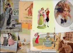 Lot 695 De 10 CPA Femmes Girl Humour Déstockage Pour Revendeurs Ou Collectionneurs - Cartes Postales