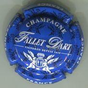 CAPSULE-CHAMPAGNE FALLET-D'ART N°19b Bleu & Blanc - Champagne