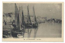 CPA - LE POULIQUEN, DANS LE PORT, VOILIERS A MAREE BASSE - Loire Atlantique 44 - ... - Le Pouliguen
