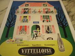 ANCIENNE PUBLICITE LA VITTELLOISE  1959 - Affiches