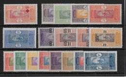 DAHOMEY -  YVERT N°60/78 * - COTE = 22.5 EUROS - - Dahomey (1899-1944)