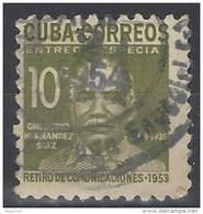 Cuba Expres U 16 (o) Usado. 1953 - Francobolli Per Espresso