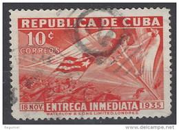 Cuba Expres U 07 (o) Usado. 1936 - Francobolli Per Espresso