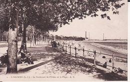 44 SAINT NAZAIRE -- Le Boulevard De L'Océan Et La Plage Animée N° 2 - Saint Nazaire