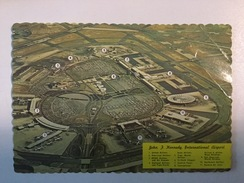 AK  AERODROM  AIRPORT  JOHN F. KENNEDY   AIRPLANE - Aérodromes