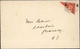 World War II Occupation Allemande De Guernesey Guernsey CAD ST MARTINS CHANNEL ISLANDS 1940 YT 230 - Guernesey