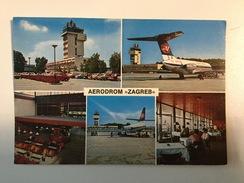 AK  AERODROM  AIRPORT  ZAGREB   AIRPLANE - Aerodrome
