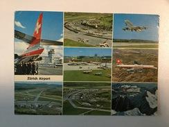 AK  AERODROM  AIRPORT  ZURICH  AIRPLANE - Aérodromes