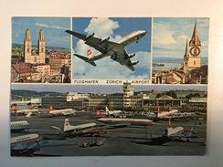 AK  AERODROM  AIRPORT  ZURICH  AIRPLANE - Aerodrome