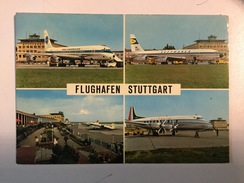 AK  AERODROM  AIRPORT  STUTTGART   AIRPLANE - Aerodrome
