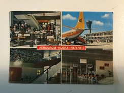 AK  AERODROM  AIRPORT  KRK  AIRPLANE - Aérodromes