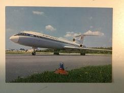 AK  PLANE  AIRPLANE   THE TU - 154 - 1946-....: Moderne