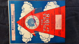 PARTITION MUSICALE-MAGIC ROSE- THE FABIENS- THEATRE FOLIES MARIGNY-EDWARD B.PERKINS-1918-FRED CARYLL-LOUIS HILLIER-PARIS - Scores & Partitions