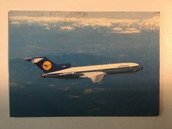 AK  PLANE  AIRPLANE   LUFTHANSA   BOEING 727 EUROPA JET - 1946-....: Moderne