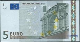 X  GERMANY  € 5 R004 E1  TRICHET  UNC - 5 Euro