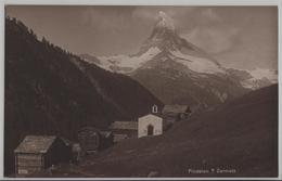 Findelen S/ Zermatt - Photo: Perrochet-Matile - VS Valais
