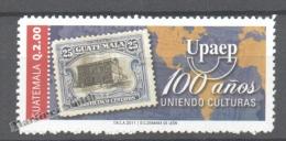 Guatemala 2011 Yvert 644, Centenary Of UPAEP - MNH - Guatemala