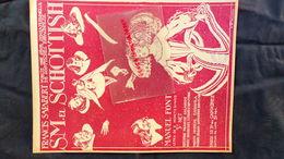 PARTITION MUSICALE-S.M.EL SCHOTTISH- MANUEL FONT-E. MONTESINOS-ESPAGNE-MADRID-BILBAO-BARCELONE-SANTANDER SALABERT PARIS- - Scores & Partitions