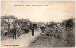 10 LA GIBERIE - L'entrée Du Village En Venant D'Eclance    (Recto/Verso) - France