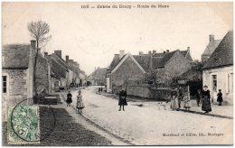 61 IGE - Entrée Du Bourg - Route Du Mans   (Recto/Verso) - France
