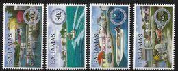 2000 Bahamas Historic Fishing Villages Boats Complete Set Of 4  MNH - Bahamas (1973-...)