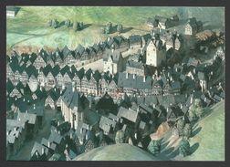 Model Of Town, Around 1650, Karlovy Vary Museum, Czech Republic - Museum