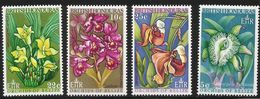 1969 British Honduras Orchids Flowers Complete Set Of 4  MNH - British Honduras (...-1970)