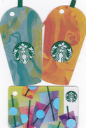 3 Gift Cards  - - -  Germany  - - -  Starbucks - Gift Cards