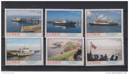 #L114. Great Britain Lundy Puffin Stamps 2008 M.S. Oldenburg's 50th Birthday - Emissions Locales