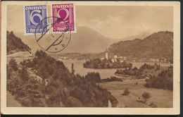 °°° 6252 - AUSTRIA - HARD - PANORAMA - 1929 With Stamps °°° - Hard