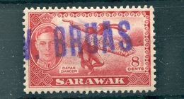SARAWAK MARITIME SHIP M.V. BRUAS GEORGE SIXTH DAYAK DANCER - Sarawak (...-1963)