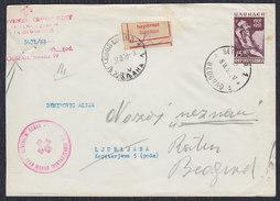 Yugoslavia Macedonia 1953 Ilinden Uprising Anniversary, Letter - Covers & Documents