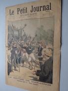 Le PETIT JOURNAL Supplement Illustré - 2 AOUT 1896 Numéro 298 LA COURSE DE MARATHON ( Voir Photo Pour Détail ) ! - 1850 - 1899