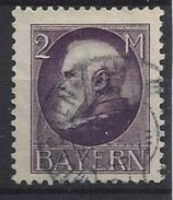Bayern 1914-15  Konig Ludwig  (o) Mi.105 I - Bavière
