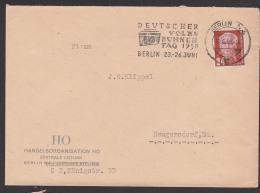 Deutscher Volksbühnentag Berlin MWSt.BVB Berliner Volksbühne 1950 Abs. Handelsorganisation HO Theater Musik - DDR