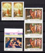 1968    Tableaux De La Galerie De Bucarest, 39x  2408-2410-2411**, Cote 54 €, - 1948-.... Republics