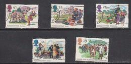 GROSSBRITANNIEN GRANDE BRETAGNE GB 1994 SUMERTIME SET OF 5V SG 1834-38 MI 1529-33 SC 1575-76 YV 1774-1778 - Used Stamps