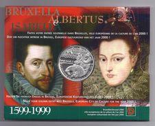 BELGIE - BELGIQUE 500 Frank / 500 Franc  Albert & Isabella  PROOF-QUALITY In Blister 1999 - 1993-...: Albert II