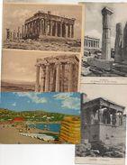 LOT DE   8 CPA DE GRECE ATHENES - Cartes Postales