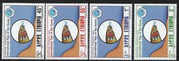 1999 Ethiopia Year Of The Ocean Fish Complete Set Of 4 MNH - Etiopia