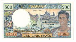 French Pacific Territories 500 Francs 1992 UNC  .C. - Territori Francesi Del Pacifico (1992-...)